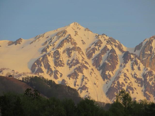 4月30日 白馬鑓ヶ岳