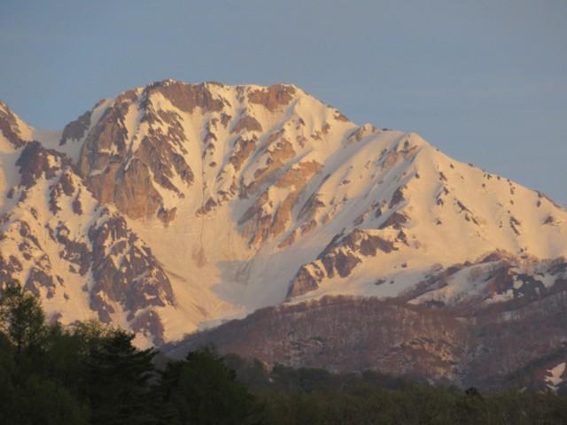 4月30日 杓子岳