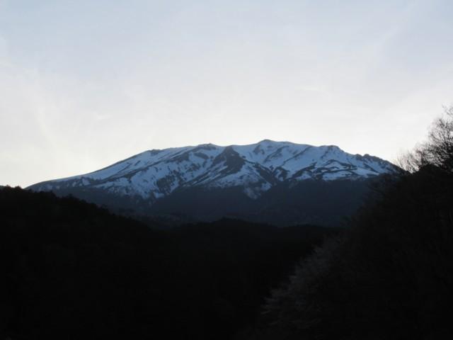 5月5日 夕暮れ御嶽山