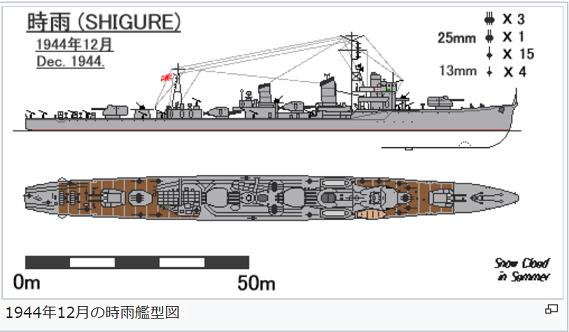 駆逐艦時雨兵装g