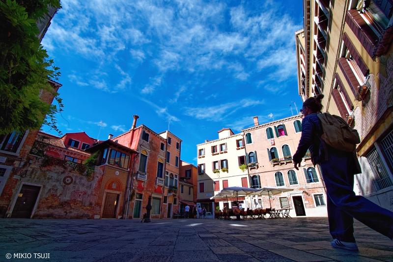 絶景探しの旅 - 0879 街の小さな広場 (イタリア ベネチア)