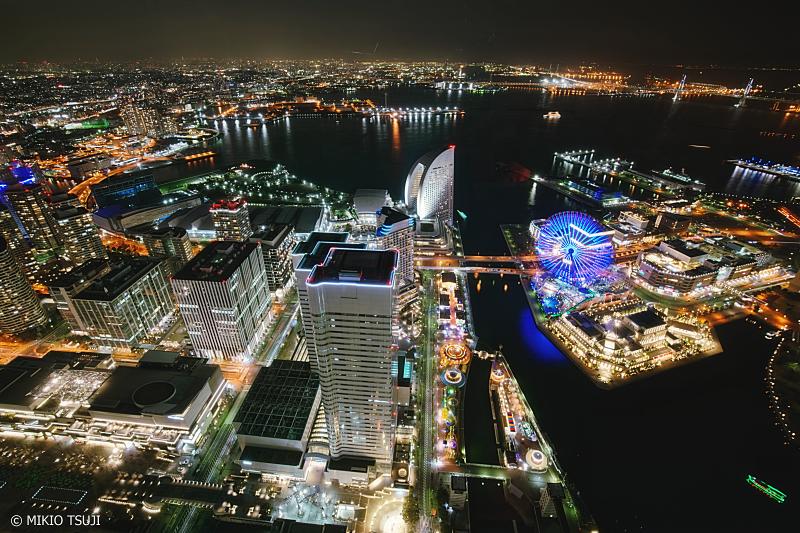 絶景探しの旅 - 0896 横浜みなとみらい21夜景 (横浜市 西区)