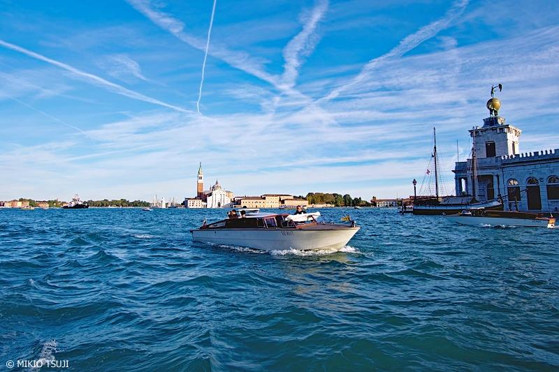 絶景探しの旅 - 0930 大運河の水上タクシー (イタリア ベネチア)