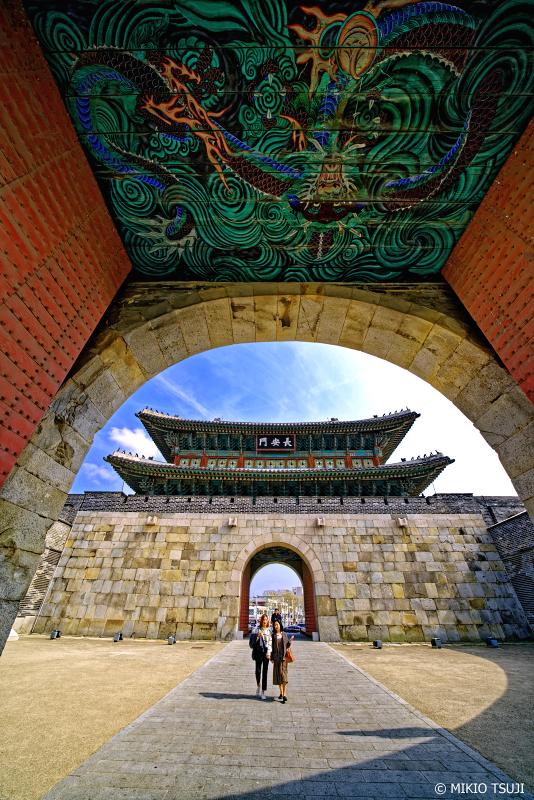 絶景探しの旅 - 0939 水原華城・長安門 (韓国 水原市)