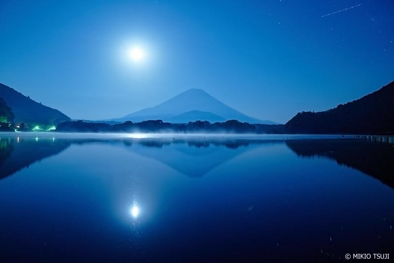絶景探しの旅 - 0990 精進湖の幻想の夜 (山梨県 富士河口湖町)