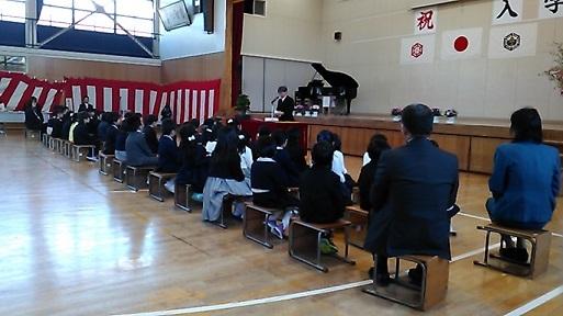 H31年森上小学校入学式
