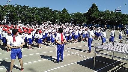 森上小学校第78回校庭大運動会