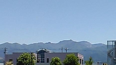 令和元年五月 ふるさとの山 笠岳